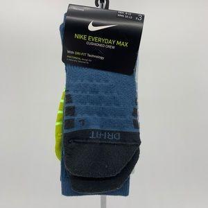 Nike socks 3 pair